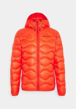 Peak Performance - HELIUM HOOD JACKET - Down jacket - super nova