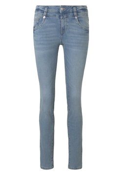 TOM TAILOR - JEANSHOSEN ALEXA SLIM JEANS - Jeans Slim Fit - light stone wash denim