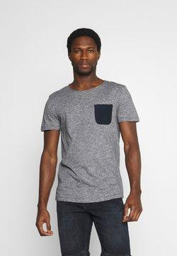TOM TAILOR DENIM - T-Shirt print - dark blue
