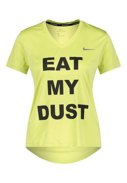 Nike Performance - MILER - T-Shirt print - gelb