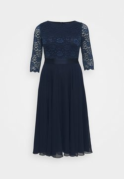 Swing Curve - Cocktailkleid/festliches Kleid - navy