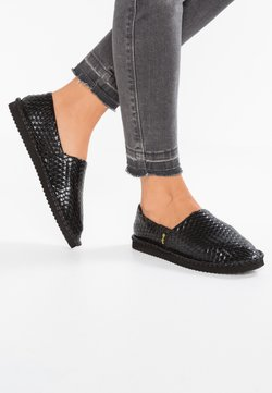 flip*flop - FLIPPADRILLA BRAID - Chaussons - black