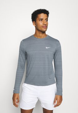 Nike Performance - MILER - Sportshirt - smoke grey/reflective silver