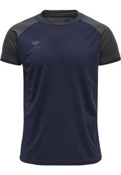Hummel - T-shirt basic - marine/asphalt