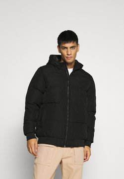 Only & Sons - ONSBOSTON QUILTED BLOCK HOOD - Winterjacke - black