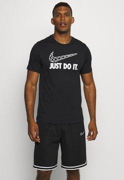 Nike Performance - DRY TEE - Printtipaita - black
