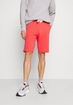 TOM TAILOR - Shorts - plain red