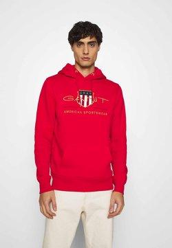 GANT - ARCHIVE SHIELD HOODIE - Hoodie - bright red