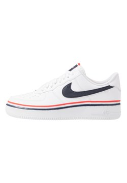Nike Sportswear - AIR FORCE 1 '07 LV8  - Sneaker low - white/obsidian/habanero red