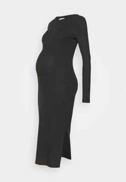 MAMALICIOUS - DRESS - Vestito di maglina - black