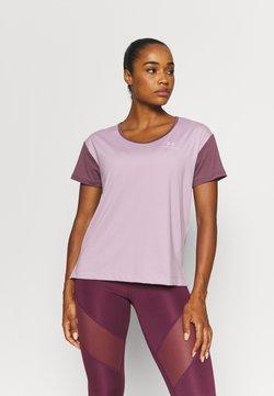 Under Armour - RUSH ENERGY NOVELTY - T-shirt imprimé - purple