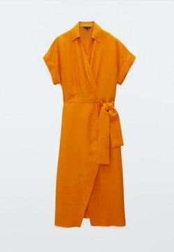 Massimo Dutti - Jumper dress - red