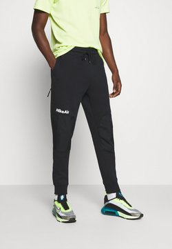 Nike Sportswear - AIR PANT  - Jogginghose - black/white