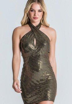 Gianni Kavanagh - Cocktailkleid/festliches Kleid - black/gold