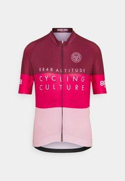 8848 Altitude - EVY BIKE  - T-Shirt print - burgundy