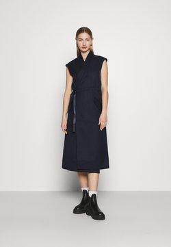 G-Star - WRAP BELTED DRESS - Vestido informal - naval blue