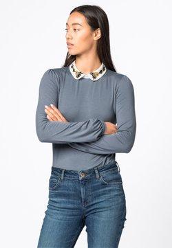 HALLHUBER - CLAUDINE  - T-shirt à manches longues - bleu fumeé