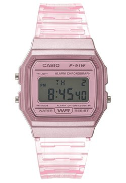 Casio - F-91WS-4EF - Digitaalikello - rosa