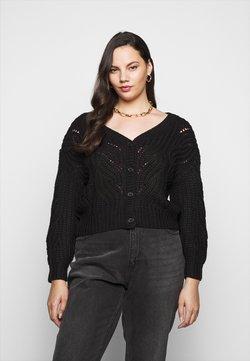 Pieces Curve - PCRACHEL CARDIGAN - Vest - black