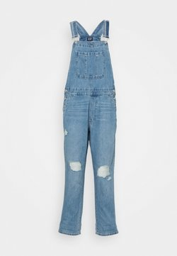 GAP - SLOUCHY OVERALL  - Tuinbroek - light-blue denim
