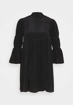 byTiMo - SHINY VINTAGE SHIFT DRESS - Cocktailkleid/festliches Kleid - black