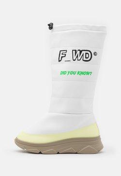 F_WD - Winter boots - black/parvel pink