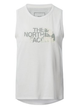The North Face - W FOUNDATION GRAPHIC TANK - EU - Funktionsshirt - tnf white