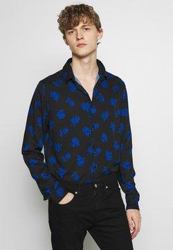 The Kooples - VINTAGE ROSES CHEMISE - Camisa - black/blue