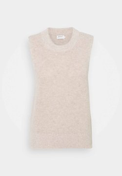 ONLY Tall - ONLPARIS LIFE - Sweter - pumice stone/melange