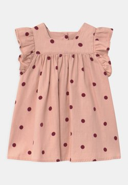 Cotton On - BETTY  - Freizeitkleid - peach whip/noir grape/ollie spot