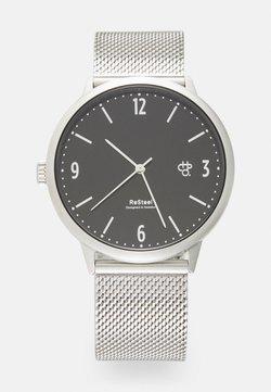 CHPO - WEDNESDAY UNISEX - Klocka - blackl/silver-coloured