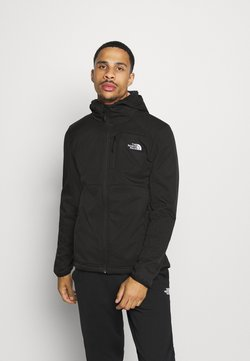 The North Face - QUEST HOODED - Chaqueta softshell - tnf black
