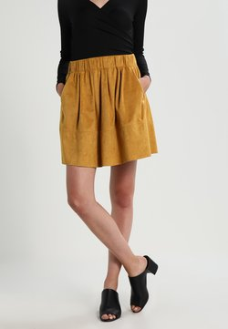 Moves - KIA - A-line skirt - mustard yellow