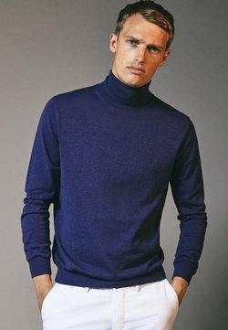 Massimo Dutti - Pullover - blue