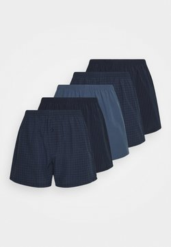 Pier One - 5 PACK - Boxershorts - dark blue/blue