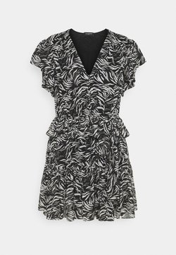 The Kooples - DRESS - Freizeitkleid - black/white