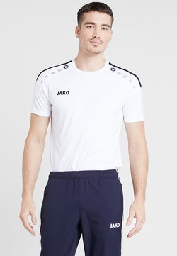 JAKO - TRIKOT STRIKER 2.0 - T-Shirt print - weiß/schwarz