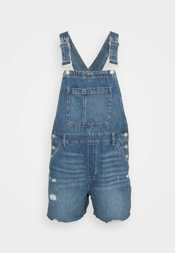 GAP - SHORTALL VIVIEN  - Tuinbroek - dark blue denim