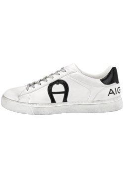 Aigner - Sneaker low - black/ white