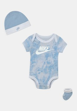 Nike Sportswear - TIE DYE FUTURA SET UNISEX - T-Shirt print - light blue