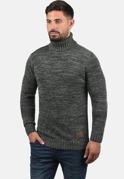 Solid - Strickpullover - dark grey