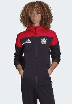 adidas Performance - FC Bayern ZNE MUNICH FOOTBALL JACKET - Vereinsmannschaften - black