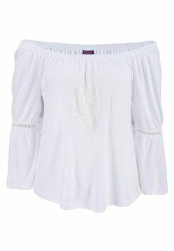 Buffalo - Langarmshirt - weiß