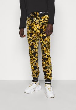 Versace Jeans Couture - TECNO  PRINT LOGO BAROQU  - Jogginghose - black