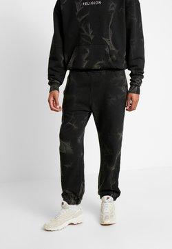 Religion - CRACKED PANT - Jogginghose - black
