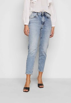 ONLY Petite - ONLVENEDA LIFE MOM - Jeans Straight Leg - light blue denim