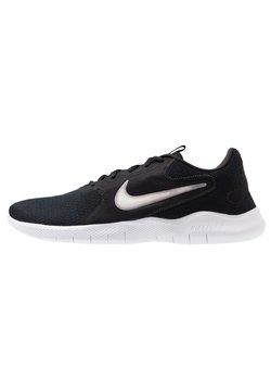 Nike Performance - FLEX EXPERIENCE RUN 9 - Zapatillas de competición - black/white/dark smoke grey