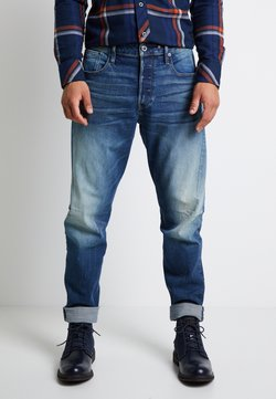 G-Star - SCUTAR 3D SLIM TAPERED - Jeans fuselé - elto pure stretch denim- antic faded baum blue
