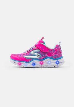 Skechers - GALAXY LIGHTS - Sneaker low - neon/pink/multicolor