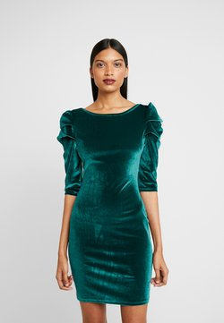 Dorothy Perkins - PUFF SLEEVE BODYCON - Etuikleid - green